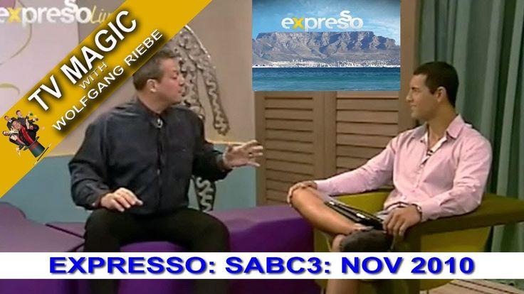 TV Magic Expresso Show Wolfgang Riebe Nov 2010