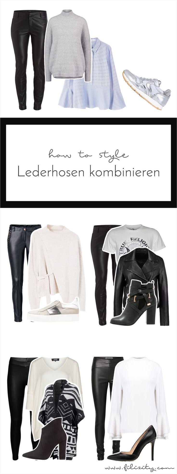 Seit 2016 bleibender Trend: (Kunst-) Lederhosen feiern ihr großes Comeback! So kombiniert ihr das vielseitige It-Piece stilsicher.