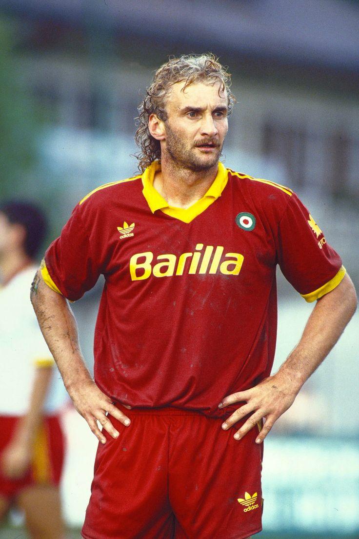 Rudi Voller - Kickers Offenbach, 1860 Munich, Werder Bremen, Roma, Marseille, Bayer Leverkusen, Germany.