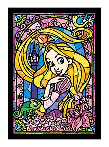 Stained Art 266 piece Disney Rapunzel stained glass DSG-266-748 tightly (japan import)