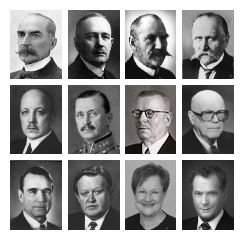 Suomen presidentit. Presidents of Finland.
