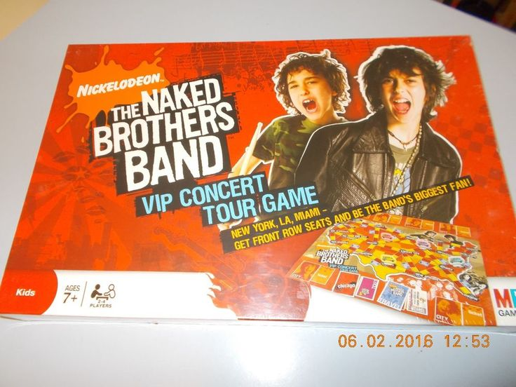 Naked brothers band layouts