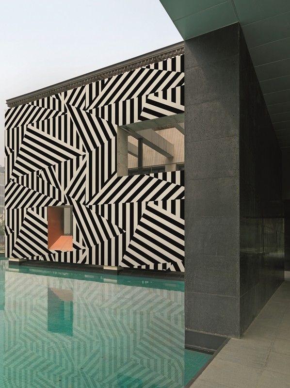 OP. To purchase: contact RADform at +1 (416) 955-8282 or info@radform.com  #wallpaper #interiordesign #moderndesign #contemporarydesign #radform #architecture #commercial #hospitality