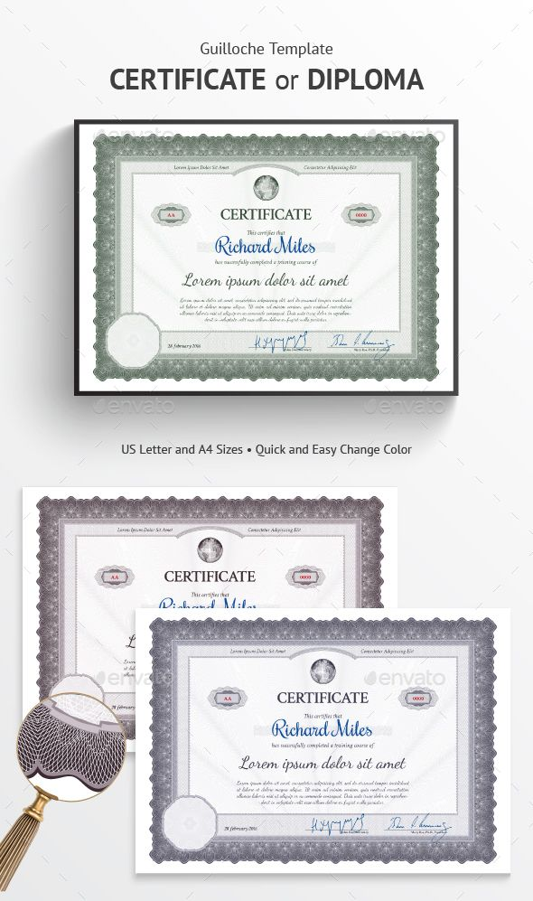 43 Best Certificate Templates Images On Pinterest Certificate