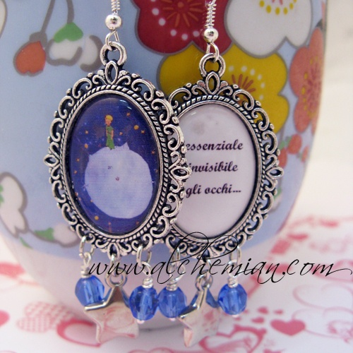 """Le Petit Prince"" earrings"