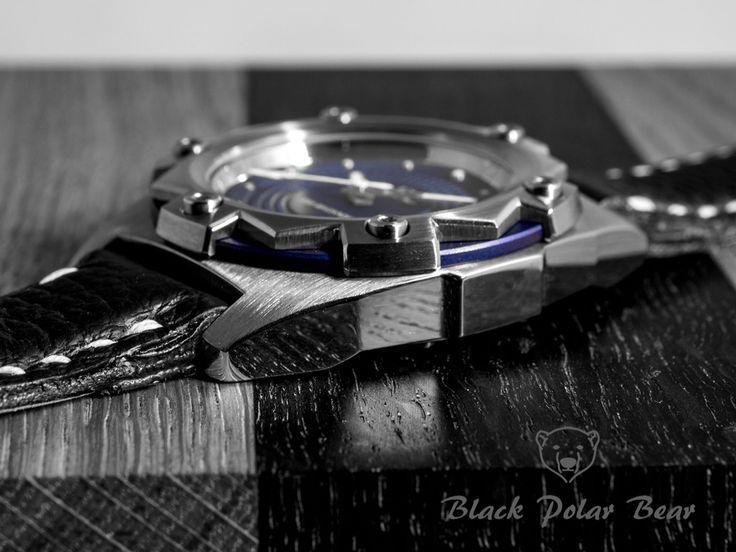 Black, white, blue The beginning #blackPolarbear #bpb #urmager #handmade #luxury #watches #timepiece #watchmaker #watchmaking #denmark #madeindenmark #danskhåndværk