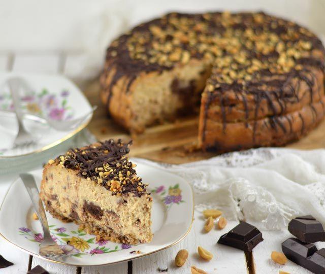 Cheesecake met pindakaas en chocolade   winactie!