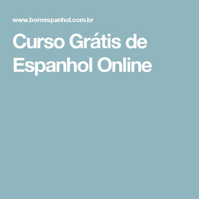 Curso Grátis de Espanhol Online