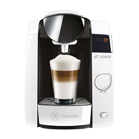 Buy Tassimo Joy 2 Coffee Machine by Bosch, White Online at johnlewis.com