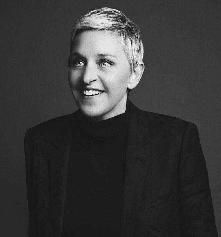Výsledek obrázku pro Ellen DeGeneres black and white