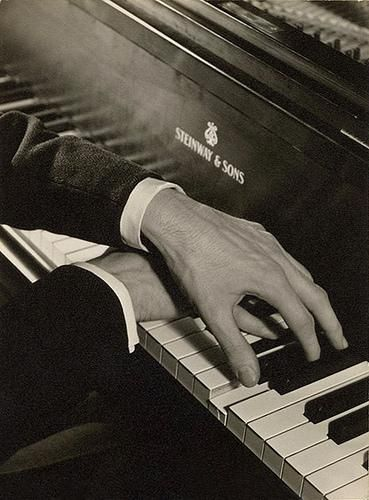 George Gershwin's hands