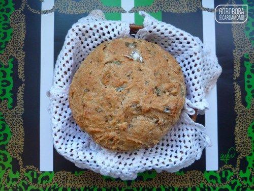 pão camponês integral com ervas