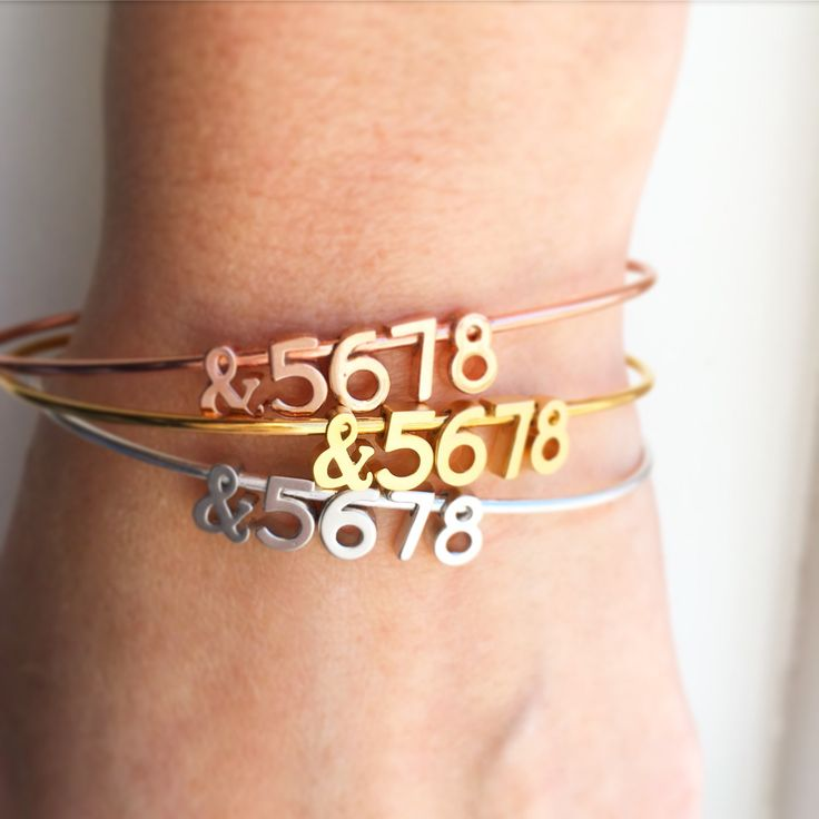 Our Dance Bangles have been one of the most popular items this week as dance classes come to an end and recitals are celebrated. These make great gifts for teachers, students, and dance teams! Now available on rose gold too