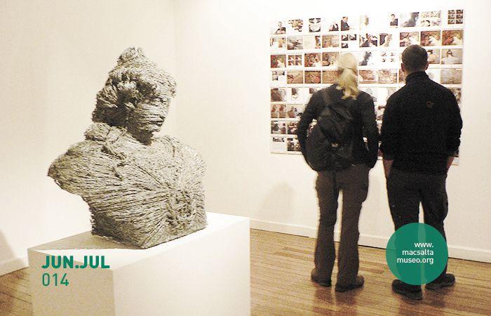 Imagen: Vistas de salas de exposición | Proyecto Institucional: mac Regional | Exposición: Taller C muestra | Período: Junio y Julio de 2014. | Lugar: macsa – Museo de Arte Contemporáneo de Salta | Salta, Argentina.