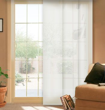 Comfortex 174 Envision 174 Panel Track Blinds Solar Shade