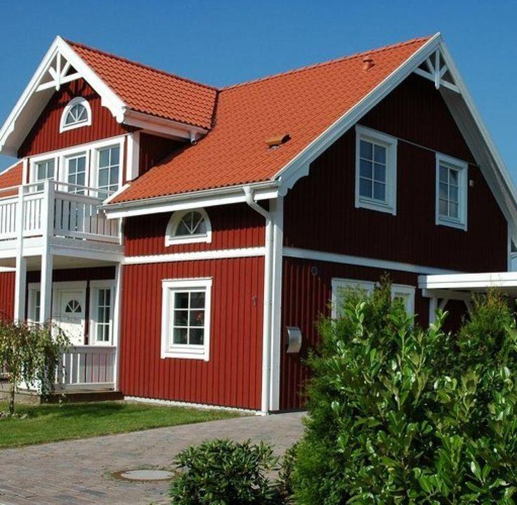 18 besten fassade bilder auf pinterest fassaden for Skandinavisches holzhaus fertighaus