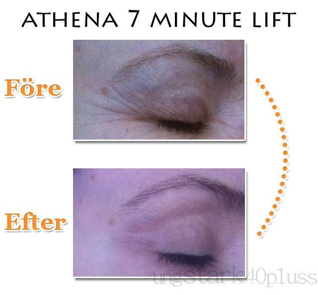 Rynkfri på 7 minuter - Athena 7 minute lift - recension - Liknande resultat som Botox