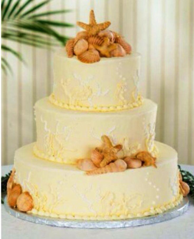 14 best Wedding Cakes images on Pinterest | Beach weddings, Beach ...