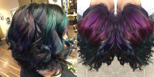 Smartfren Store - Oil Slick Hair, Tren Rambut Warna-Warni Yang Bikin Mupeng
