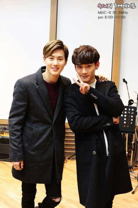 EXO | Kim Jun Myun (suho) & Jong Dae (chen) | 150114 | MBC FM4U Sunny's FM Date Website Update [Official]  | Facebook