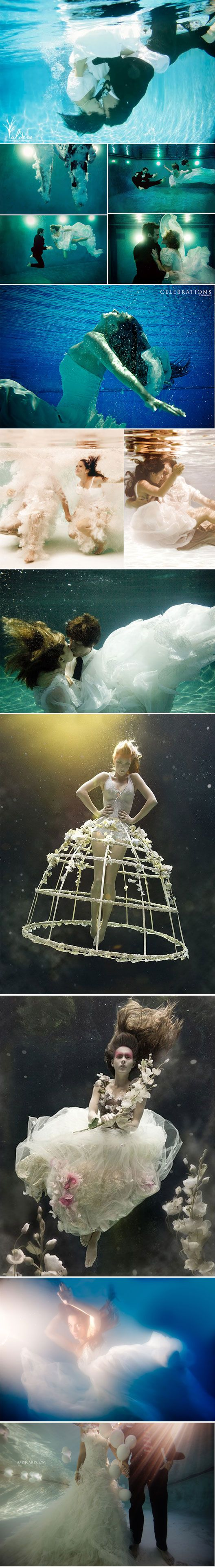 Underwater Wedding pictures!