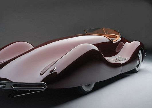 1948 Buick Streamliner.  http://www.thecoolist.com/1948-buick-streamliner-by-norman-e-timbs/