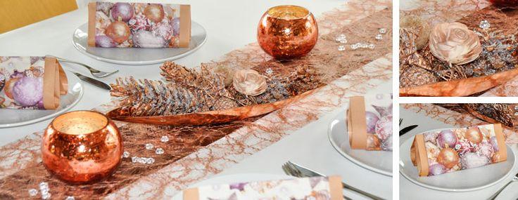 Kupfer Kupfer Tischdeko Weihnachten Pinterest