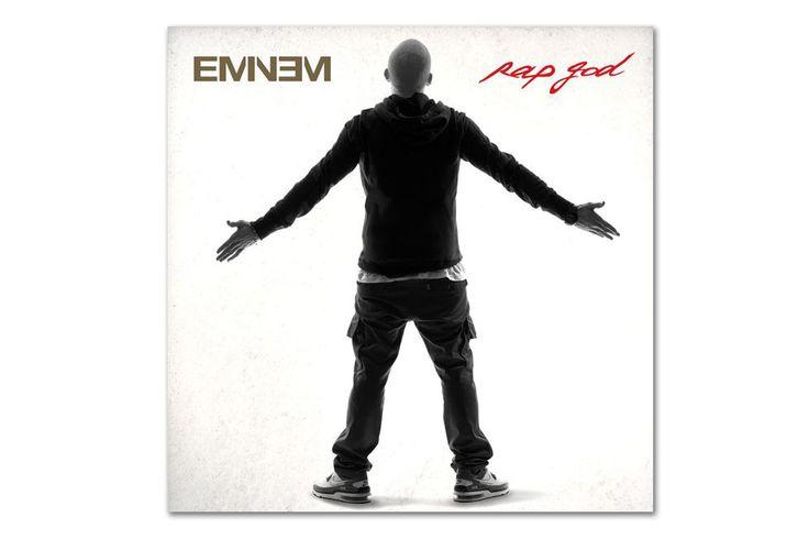 Eminem Rap God Album Cover