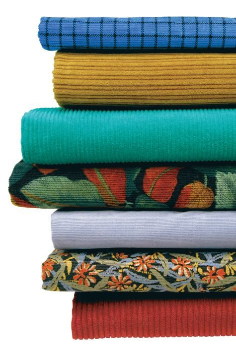 Corduroy: Discover techniques that yield superior results with this classic pile fabric.- WONDERFUL INFO ON HOW TO SEW CORDUROY