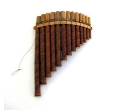 Panflute Pan Flute, Panpipes Percussion Woodwind Instrument $14.99
