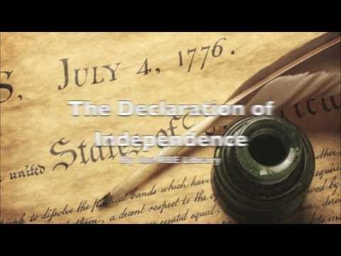 This is a short, clearly narrated video about the Declaration of Independence. It is an overview of relevant events and historical figures and uses images mostly dating from the time the document was written, as well as photographs of original flags, Continental Hall in Philadelphia,  the Liberty Bell, the document itself and a map showing the 13 colonies.  The musical background is also period music. It would be a good introduction or study aid to the topic.  It was made by the RBE Library.