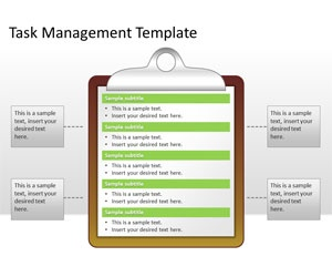 Task Management PowerPoint Template is a free PPT template that you can download and use for task management and project management presentations | Business PowerPoint Templates