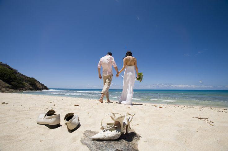 wedding on the beach at Galley Bay, Antigua copyright: Antigua & Barbuda Tourism Authority
