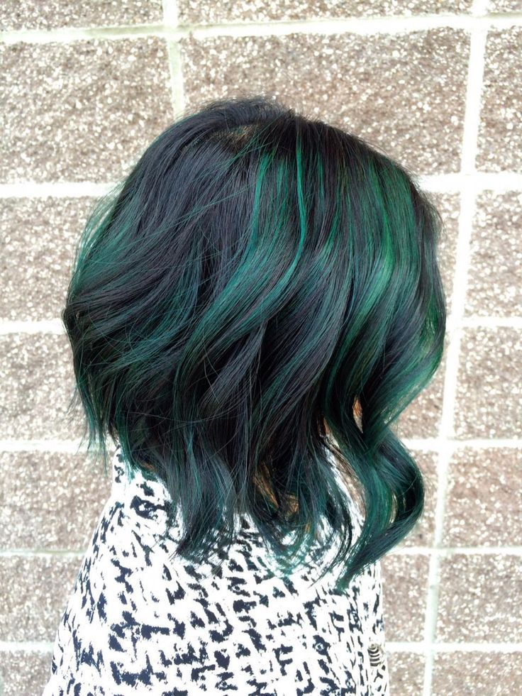 TRANSFORMATION: Pretty and Fun Dimension With Peacock Green | Modern Salon