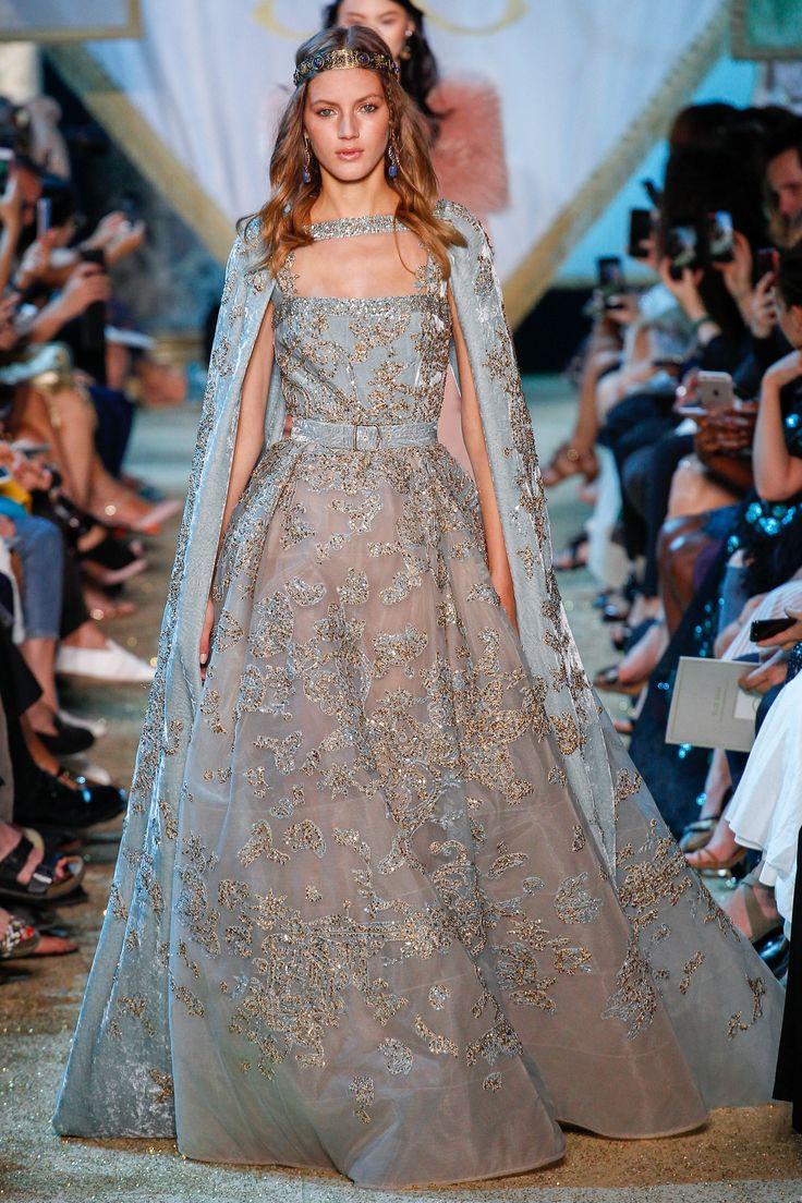 Elie Saab Fall 2017 Couture Fashion Show - Valery Kaufman (Elite)