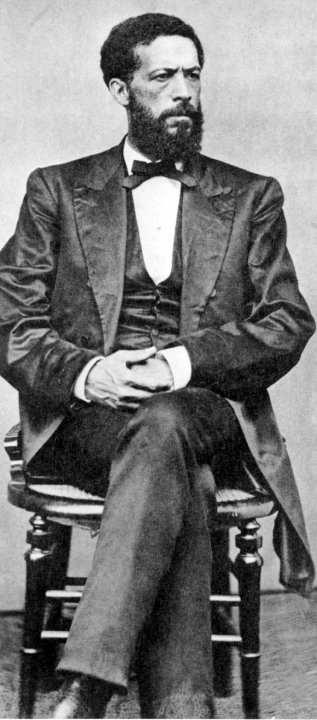 John Mercer Langston, African American abolitionist, attorney, educator, activist and politician. The first Dean of the Law school at Howard University, the first president of Virginia State University, and Virginia's first African American congressman