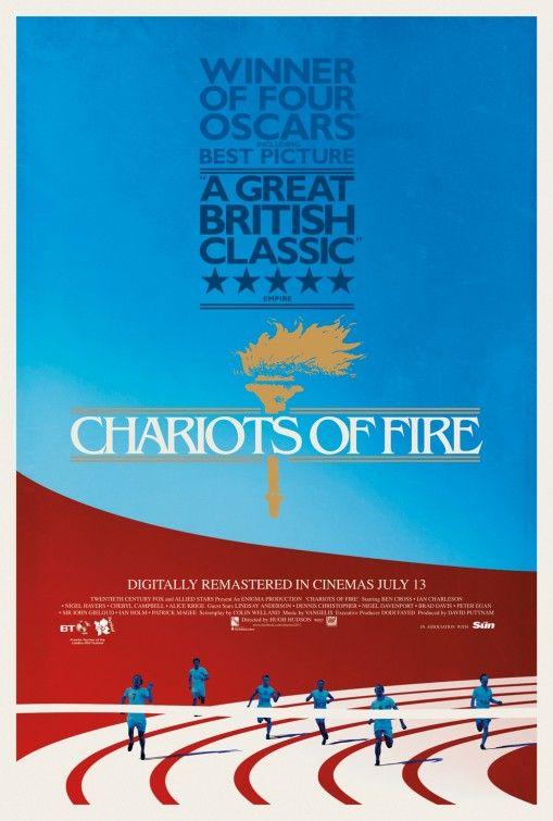 Chariots of Fire Movie Poster #3 - Internet Movie Poster Awards Gallery