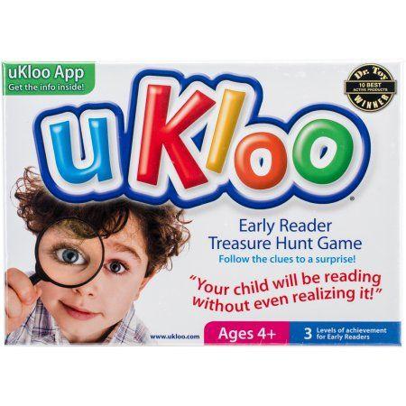 uKloo Early Reader Treasure Hunt Game, Multicolor