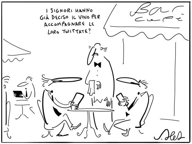 #Sommelier #vignetta #JoshuaHeld #sketch
