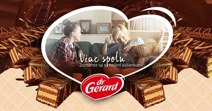 Dr Gerard je jednou z najväčších cukrárenských v Európe. S vášňou pracujeme od roku 1993 a neustále sa rozvíjame, aby sme vám mohli dodávať vaše obľúbené sušienky a vytvárať nové recepty.