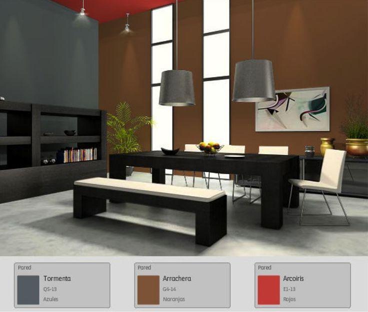 383 best colores images on pinterest color palettes - Colores de interiores ...
