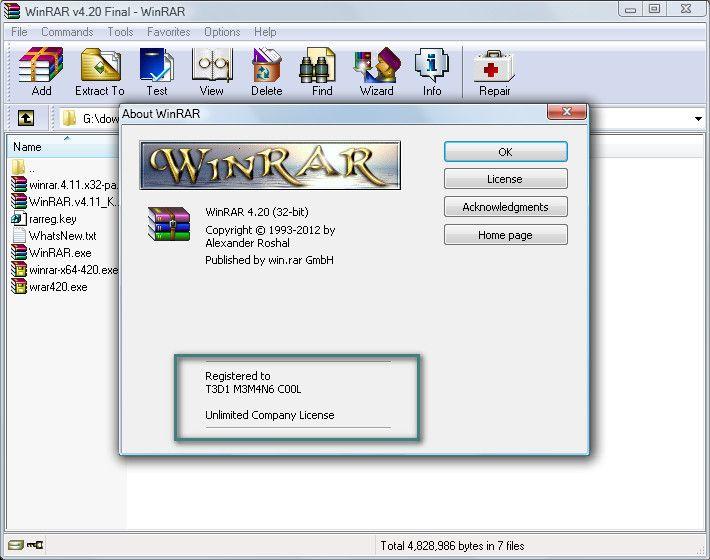 WinRAR.v4.11.Incl.KEYGEN-FFF
