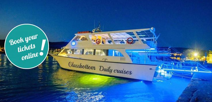 Breathtaking Sunset on Board with Glassbottom from Ouranoupoli #Halkidiki #Greece #thingstodo #summer #tickets