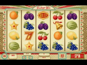 Vintage Win Slot Game