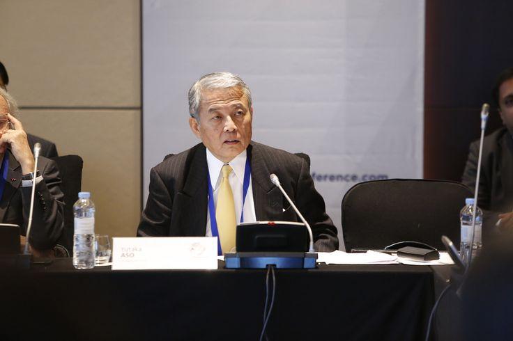 WPC 2014, Seoul - Yutaka Aso, President of Aso Group