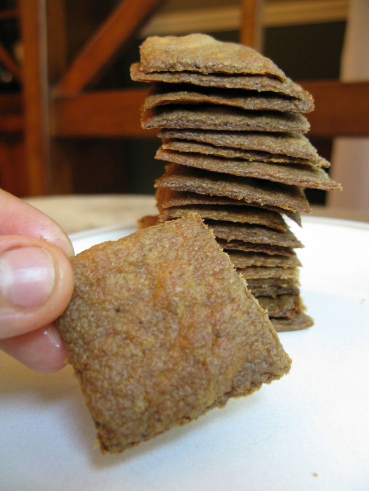 These crackers are so delicious, crunchy, and sturdy.  My family can't get enough of them.