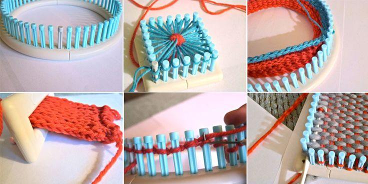 métier à tisser & à tricoter