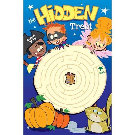 Christian Halloween Bible tract for kids.