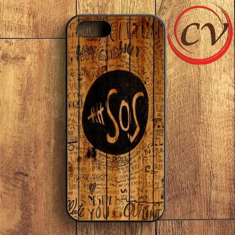 5sos Fans On Wood iPhone SE Case
