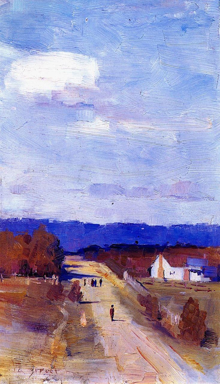 A Road to the Ranges Sir Arthur Streeton - 1889